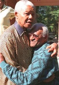Mandela en Tutu