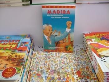 Madiba jeugdroman over het leven van Nelson Mandela